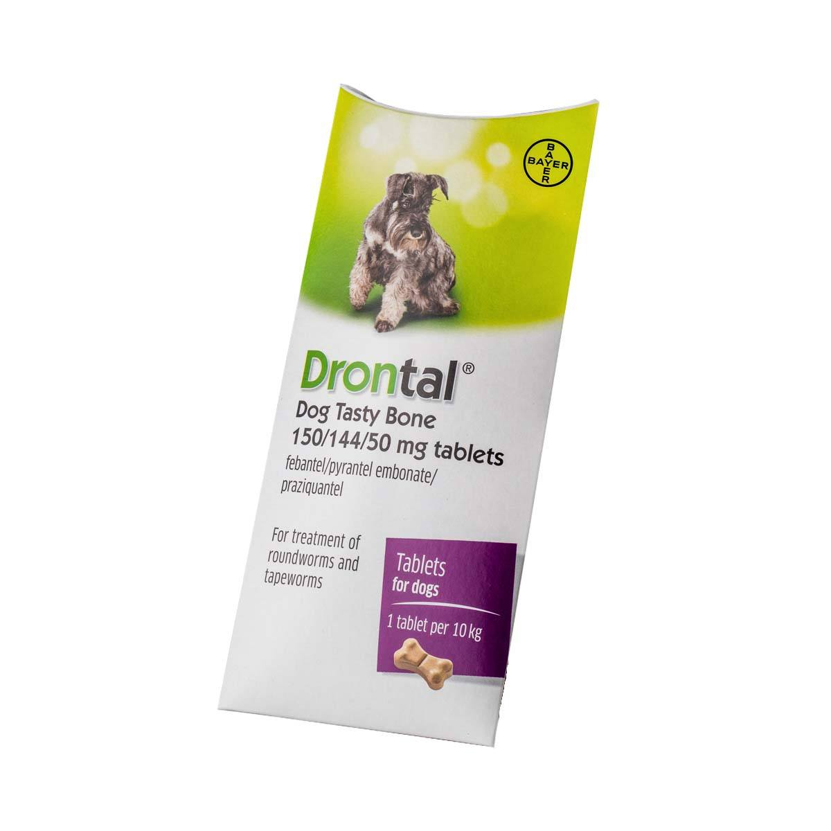 Drontal Dog Tasty Bone