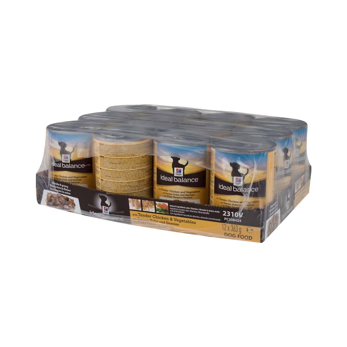 Ideal Balance Dog Food >> Hill S Ideal Balance Canine Adult With Tender Chicken Veg