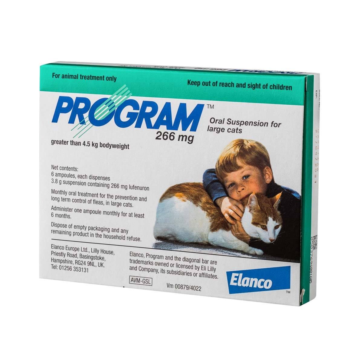 Program Oral Suspension For Cats