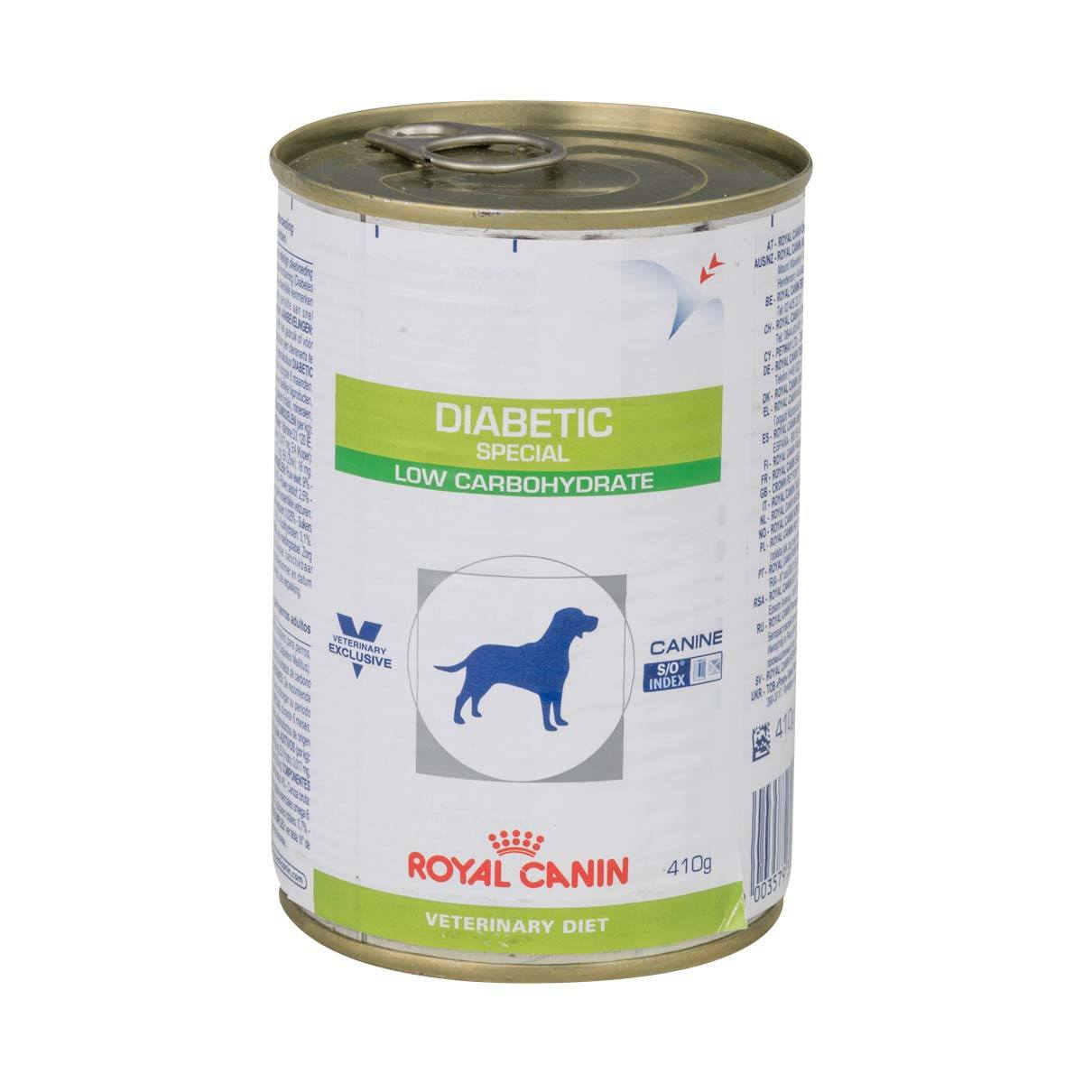 Royal Canin Vet Diet Dog Food Diabetic Special Wet Canine