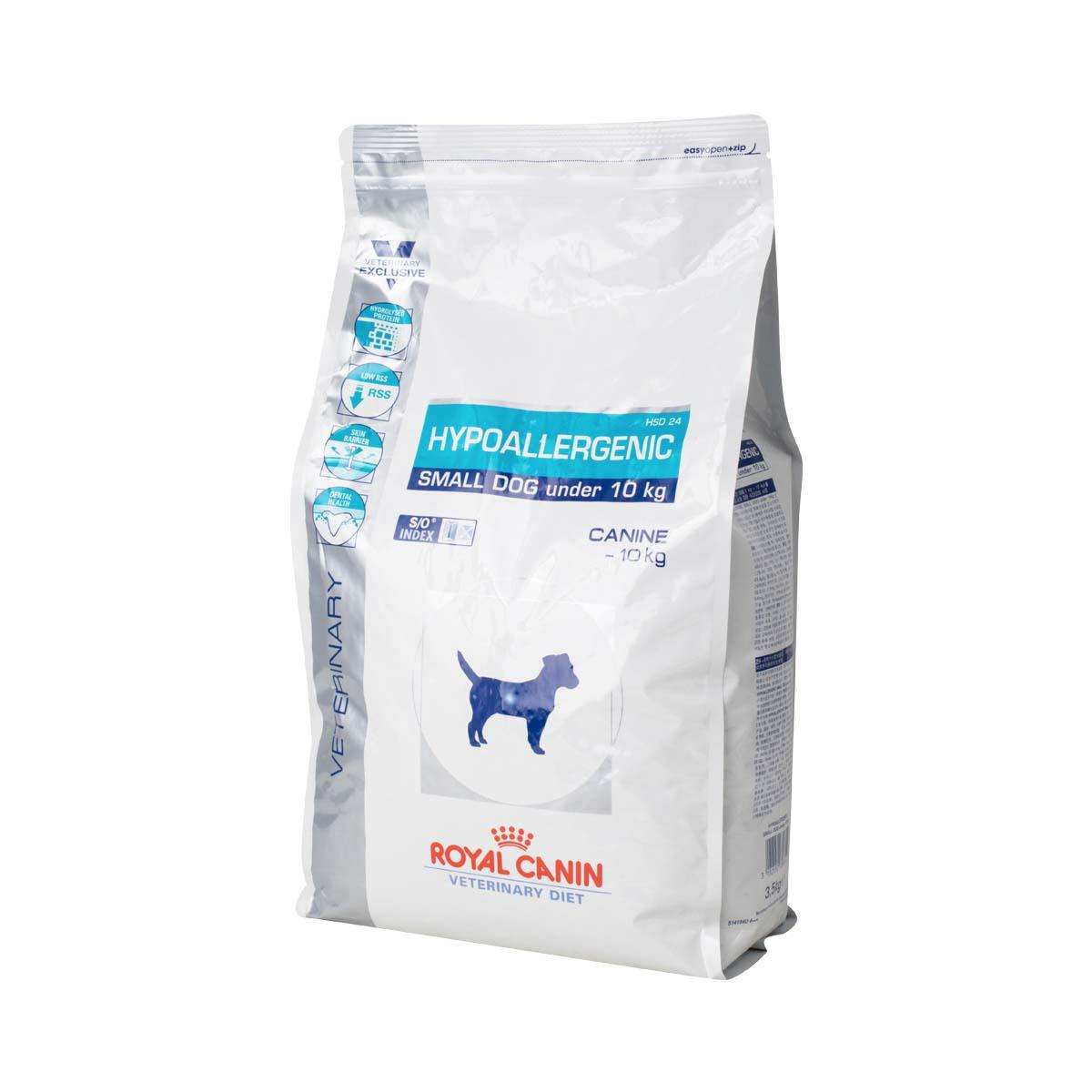 royal canin vet diet dog food hypoallergenic small dog