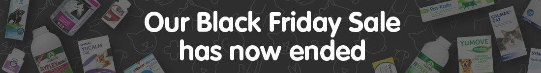 Our Black Friday Sale has now ended.