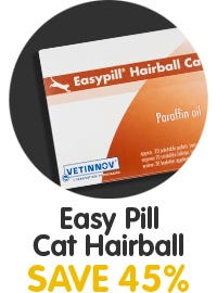 Save 45% On Easy Pill Cat Hairball