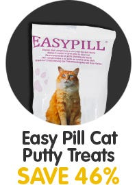 Save 46% On Easy Pill Cat Putty