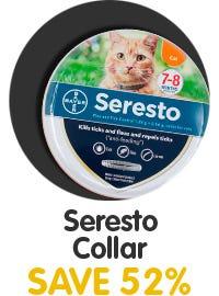 Save 52% on Seresto Cat